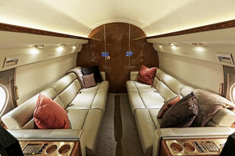Gulfstream GIV  aft cabin