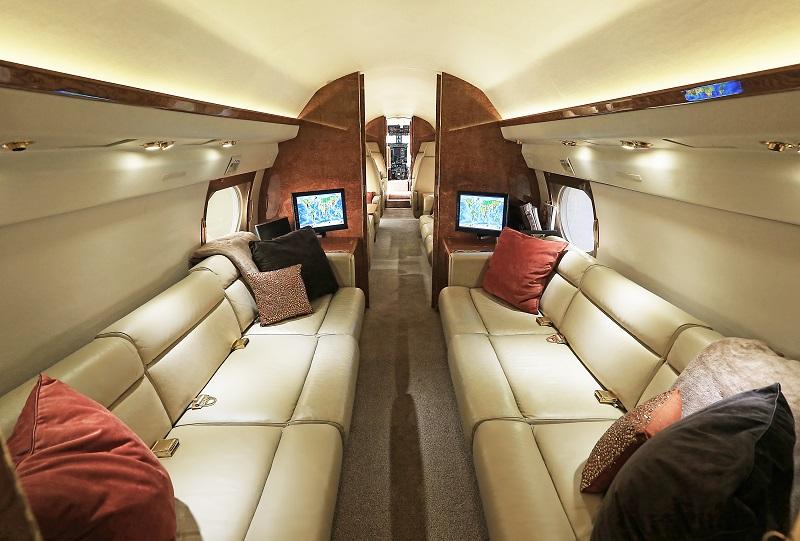 Gulfstream GIV aft