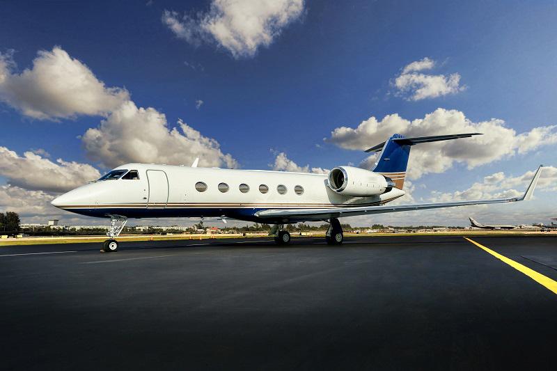Exterior Gulfstream GIV