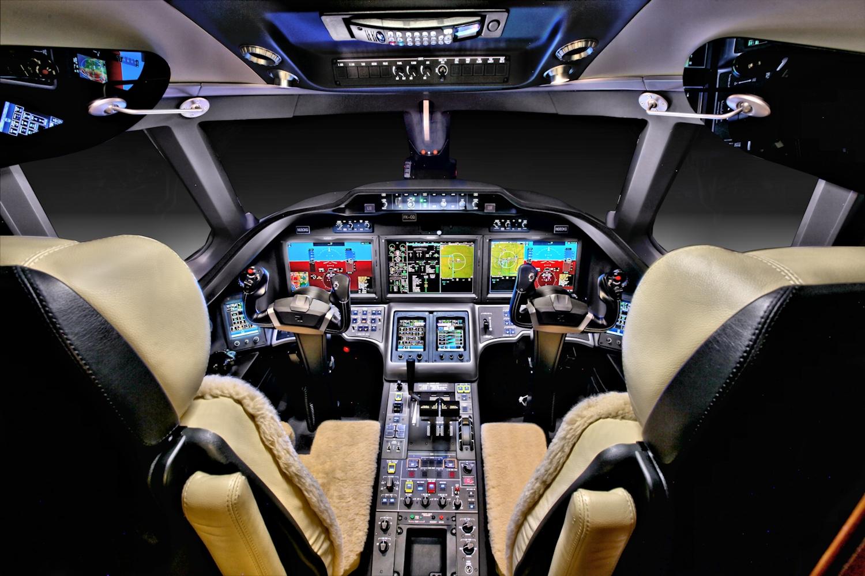 Cit X+ sn513 - Cockpit