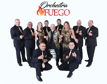 salsa band orchestra fuego will perform LIVE at sabor latino 2018 with original latin songs