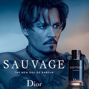 dior ad: johnny depp and his sauvage cologne