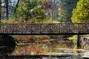 Bridge Over Colorful Water, Kirkside Park