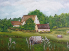 French Countryside 8x10 Canvas Board.jpg