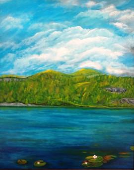 mountain-lake 16x20 Oil on Canvas.jpg