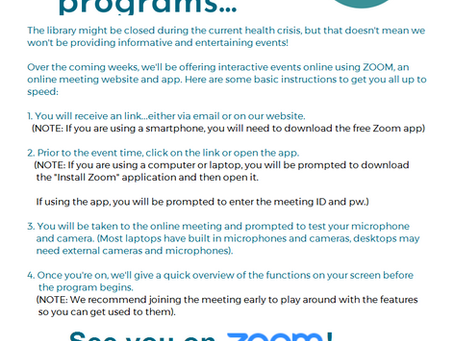 Connect with ZOOM