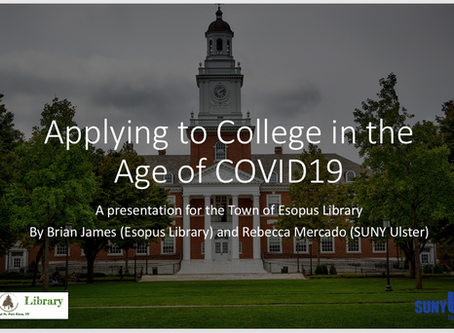 Applying to College in the Age of COVID