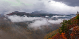 Storm Clearing at Huckleberry Point