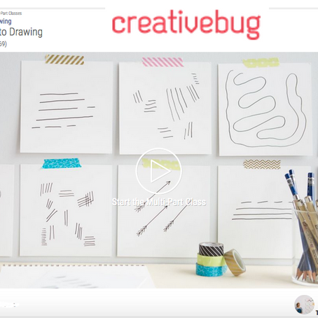 Online Intro to Drawing Class
