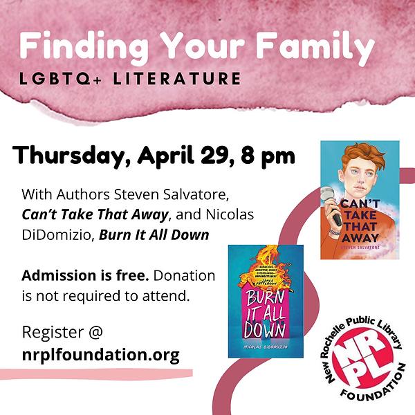 NRPL Foundation - LGBTQ Event 4-29-2021.