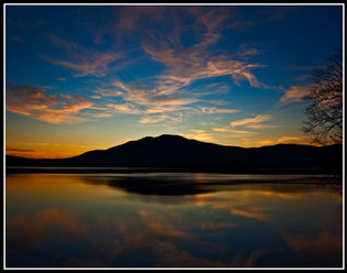 Ashokan Sunset