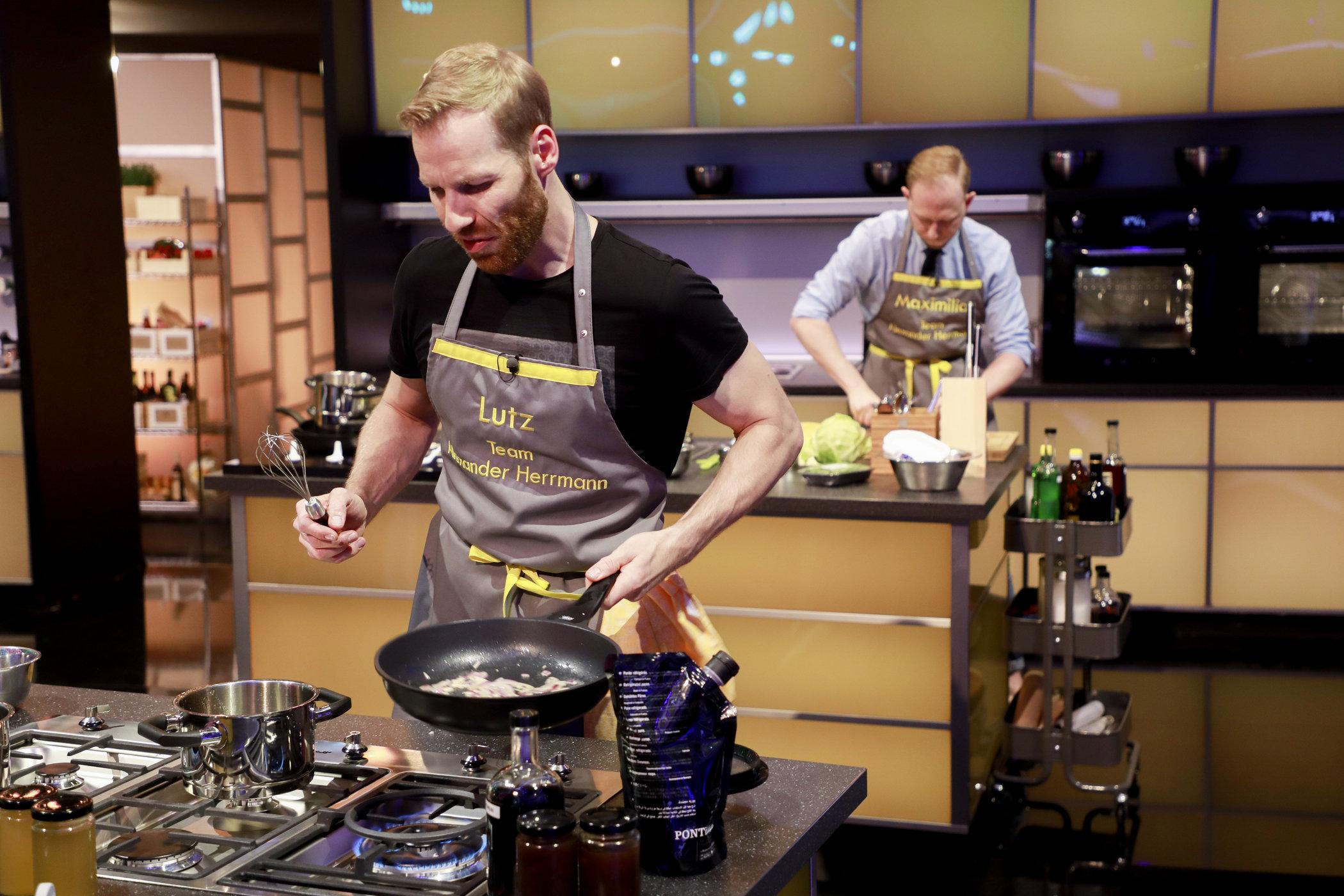 Lutz im The Taste Studio@work