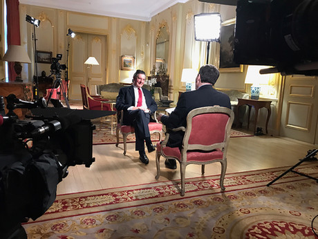 Newsnight - Interview with the French Ambassador