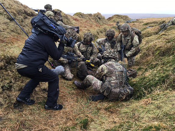 Trooping the Colour - Exercise on Dartmoor with the Grenadier Guards