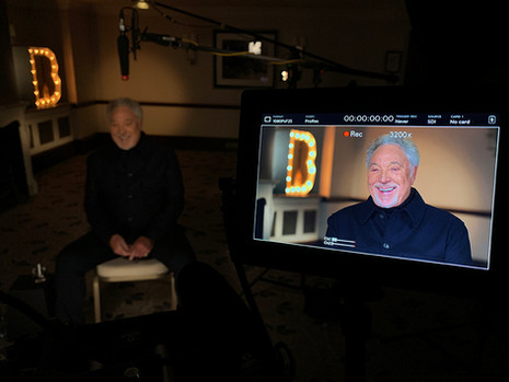The BRITs - Interview with Sir Tom Jones