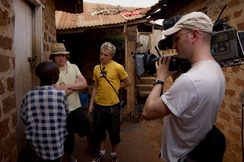 Comic Relief - Visiting projects in Uganda with McFly