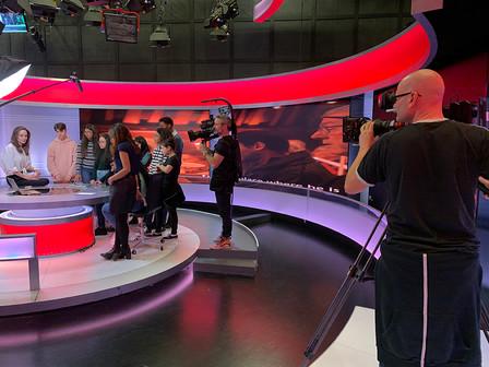 Angelina Jolie at the BBC