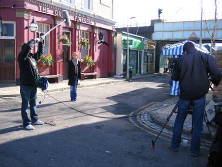 Behind the scenes on EastEnders