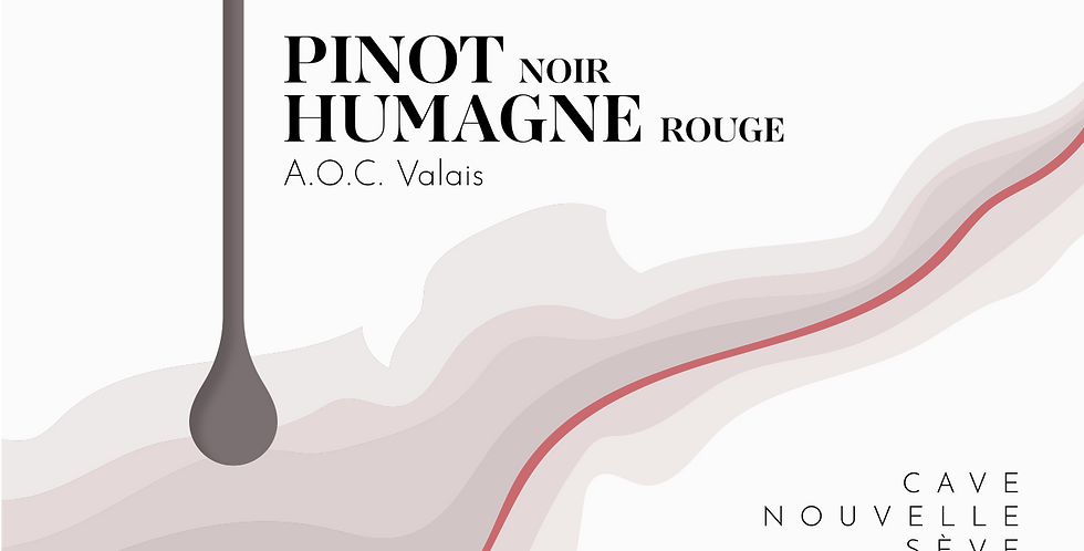 Pinot Noir et Humagne Rouge en barrique