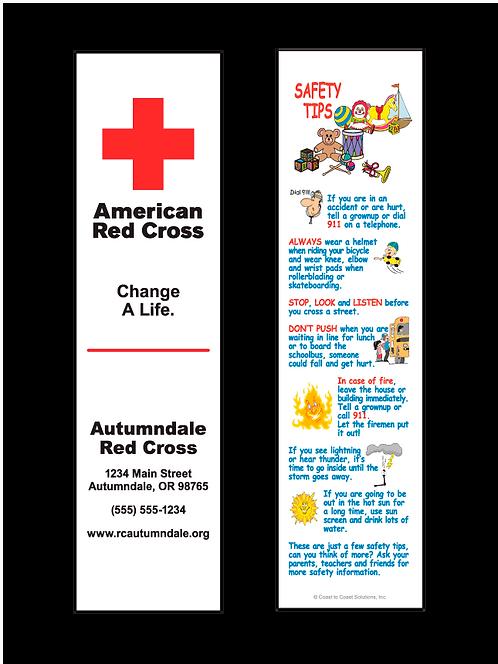 Red Cross Bookmark