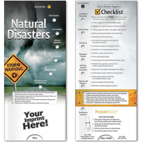 Natural Disasters Pocket Slider
