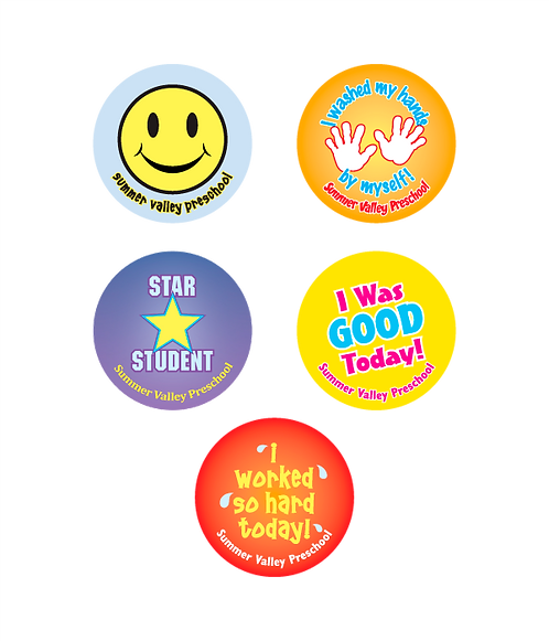 Daycare Assorted Stickers
