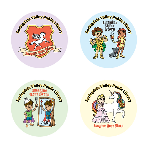ImagineYour Story Assorted Stickers