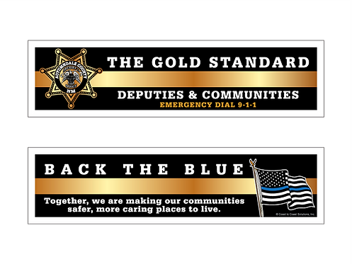 Deputies & Communities 7pt Star Bookmark