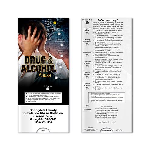 Drug & Alcohol Abuse Pocket Slider