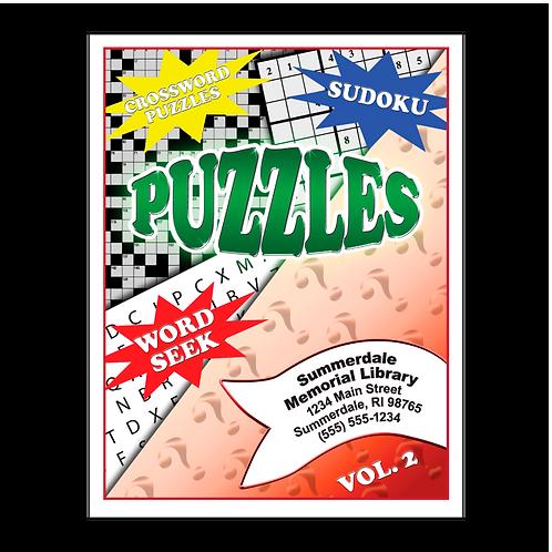 Adult Puzzle Book Volume 2