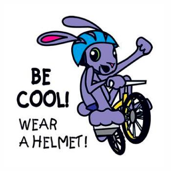 Be Cool! Wear A Helmet! Tattoo