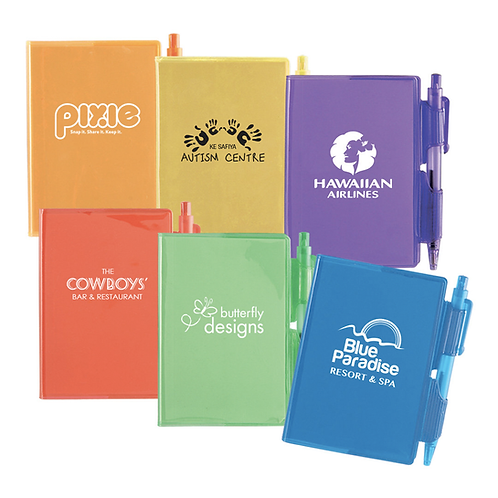 Bright Notes Pad and Pen