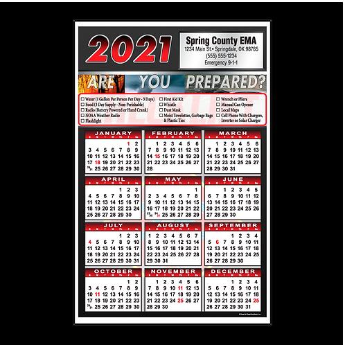 Natural Disaster Wall Calendar