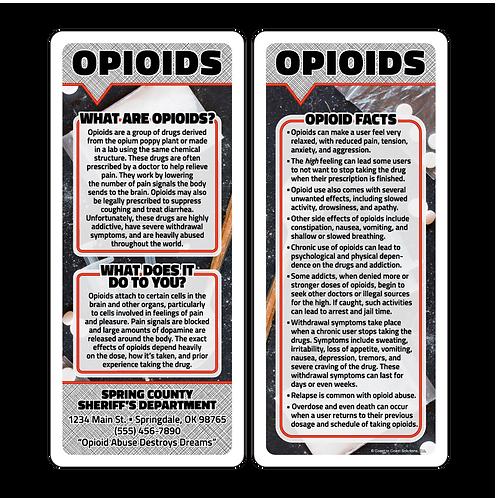 Opioids Q&A Card