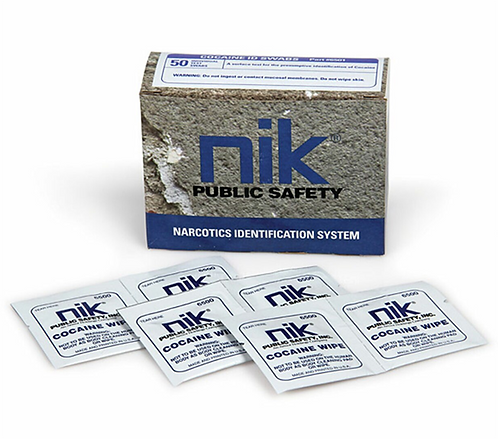NIK ® Cocaine ID Wipes