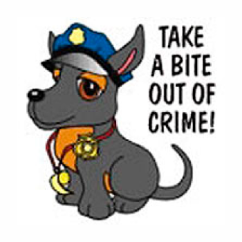 Take A Bite Out of Crime Tattoo
