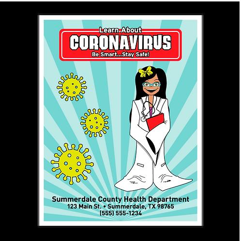 Coronavirus - COVID-19 Coloring Book