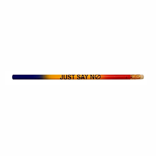 Just Say No To Drugs Multi-Colored Pencil