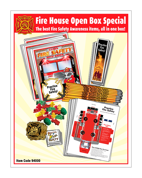 Fire Department Open Box Special