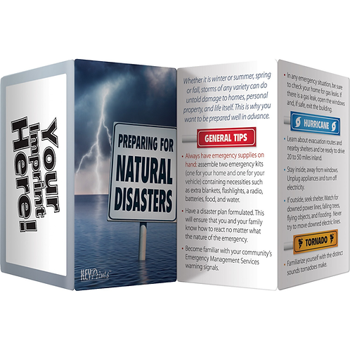 Natural Disasters Key Points