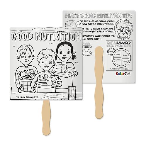 Good Nutrition Color Fun Fan