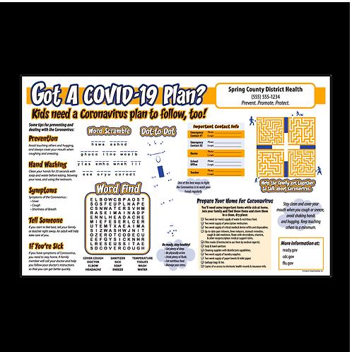 Coronavirus - COVID-19 Activity Sheet