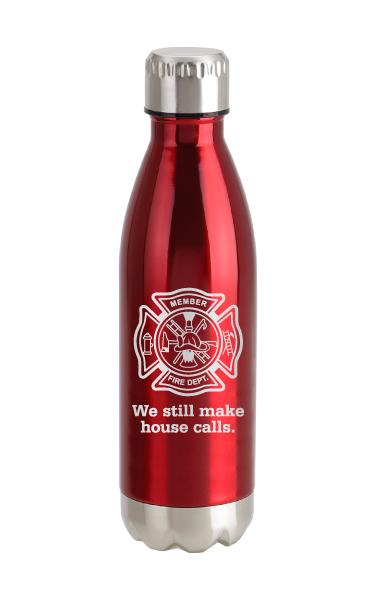 Fire Department Stainless Steel Bottle