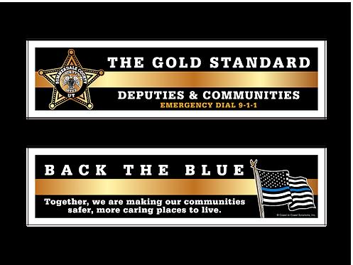 Deputies & Communities 5pt Star Bookmark