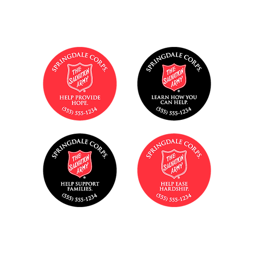 The Salvation Army Stickers