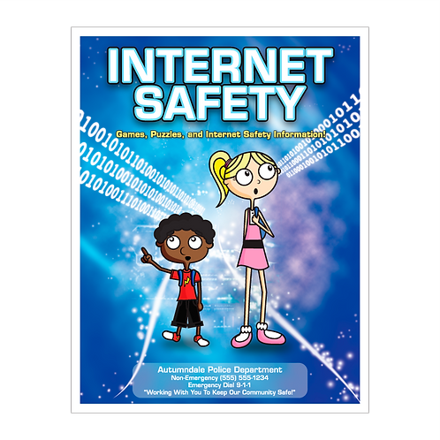 Internet Safety Coloring Book