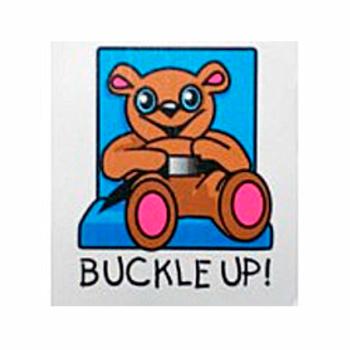 Buckle Up Bear Tattoo
