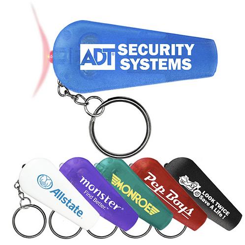 Whistle Keychain Flashlight