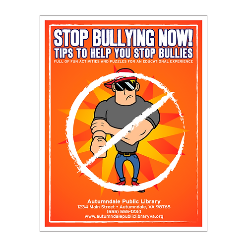 Stop Bullying Now Coloring Book