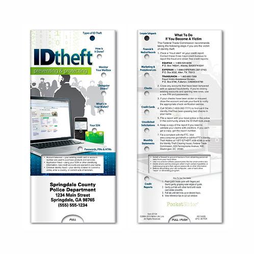 Identity Theft Pocket Slider
